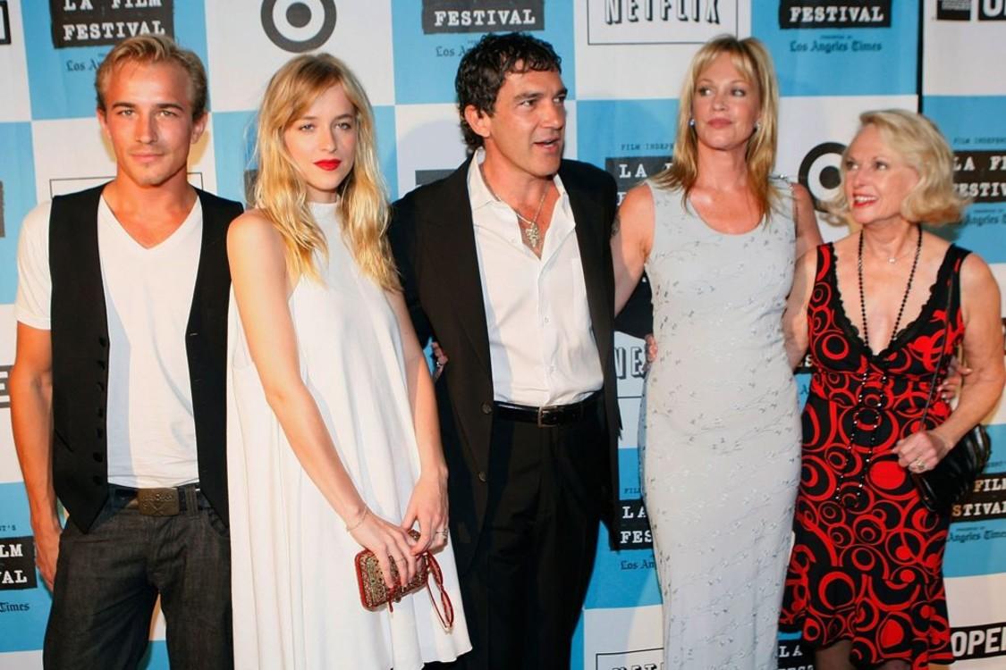 На кинофестивале в Лос-Анджелесе со своей семьей, 2008 год