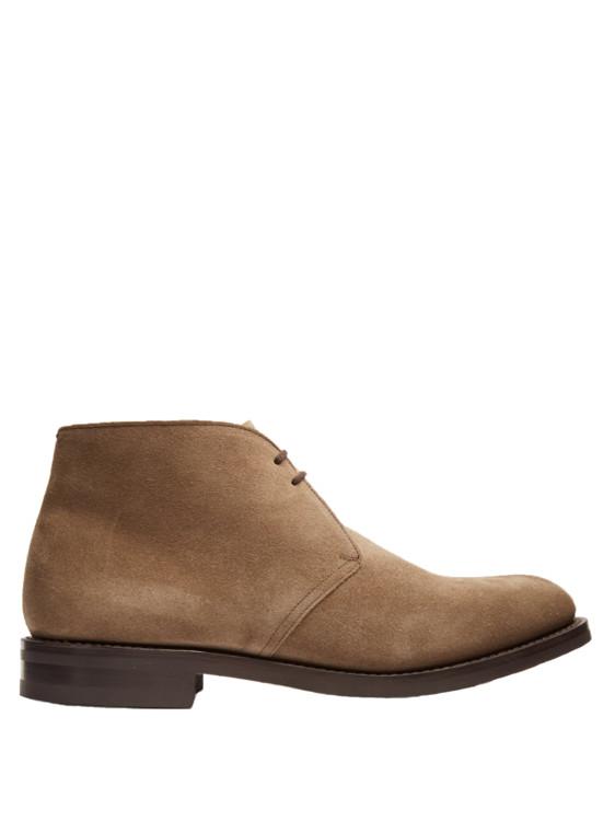 Замшевые туфли Church's