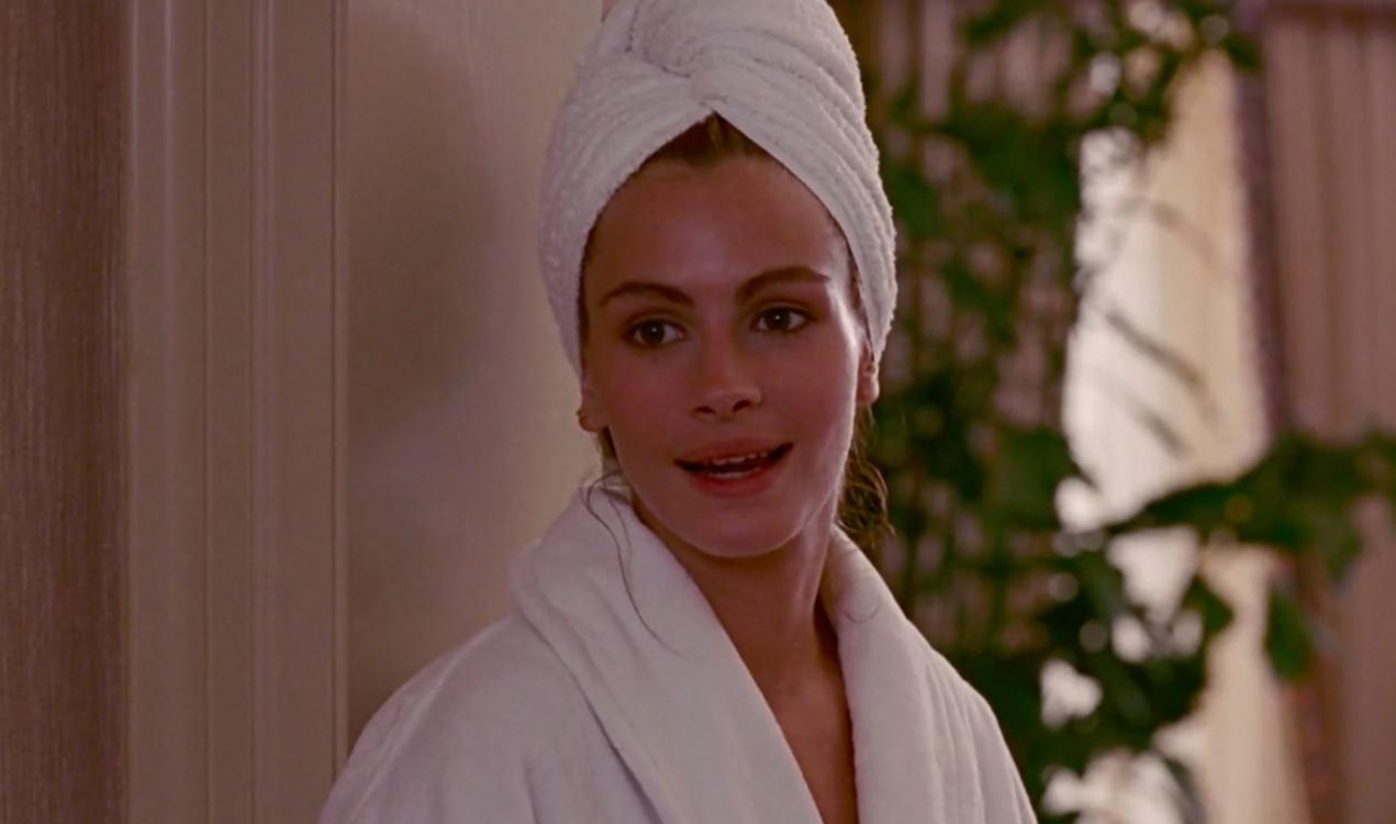 """Джулія Робертс у фільмі """"Красуня"""", 1990"""