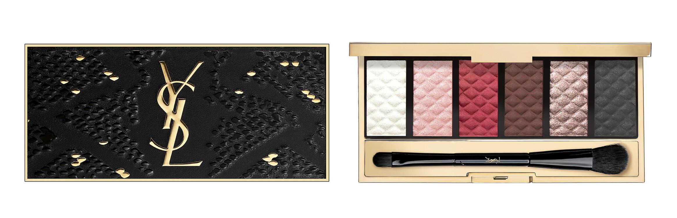 Шестицветный набор теней из осенней коллекции макияжа YSL Beauté, лимитированный выпуск