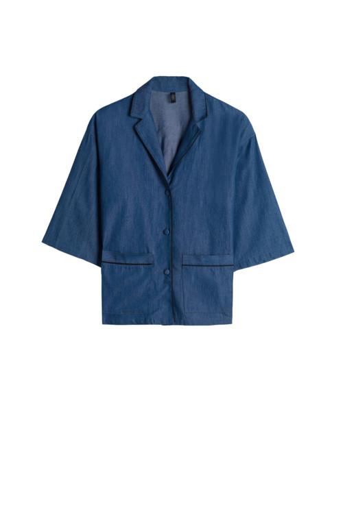 Рубашка-кимоно из денима, Intimissimi