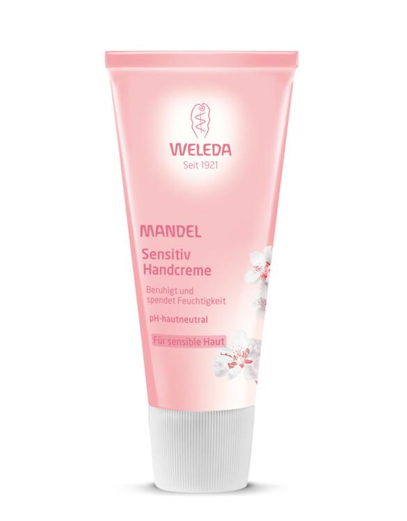 Миндальный крем для рук, Weleda. Нежный сливочный крем защищает от агрессии окружающей среды, создает защитный слой на коже. Увлажняет, питает, придает шелковый эффект