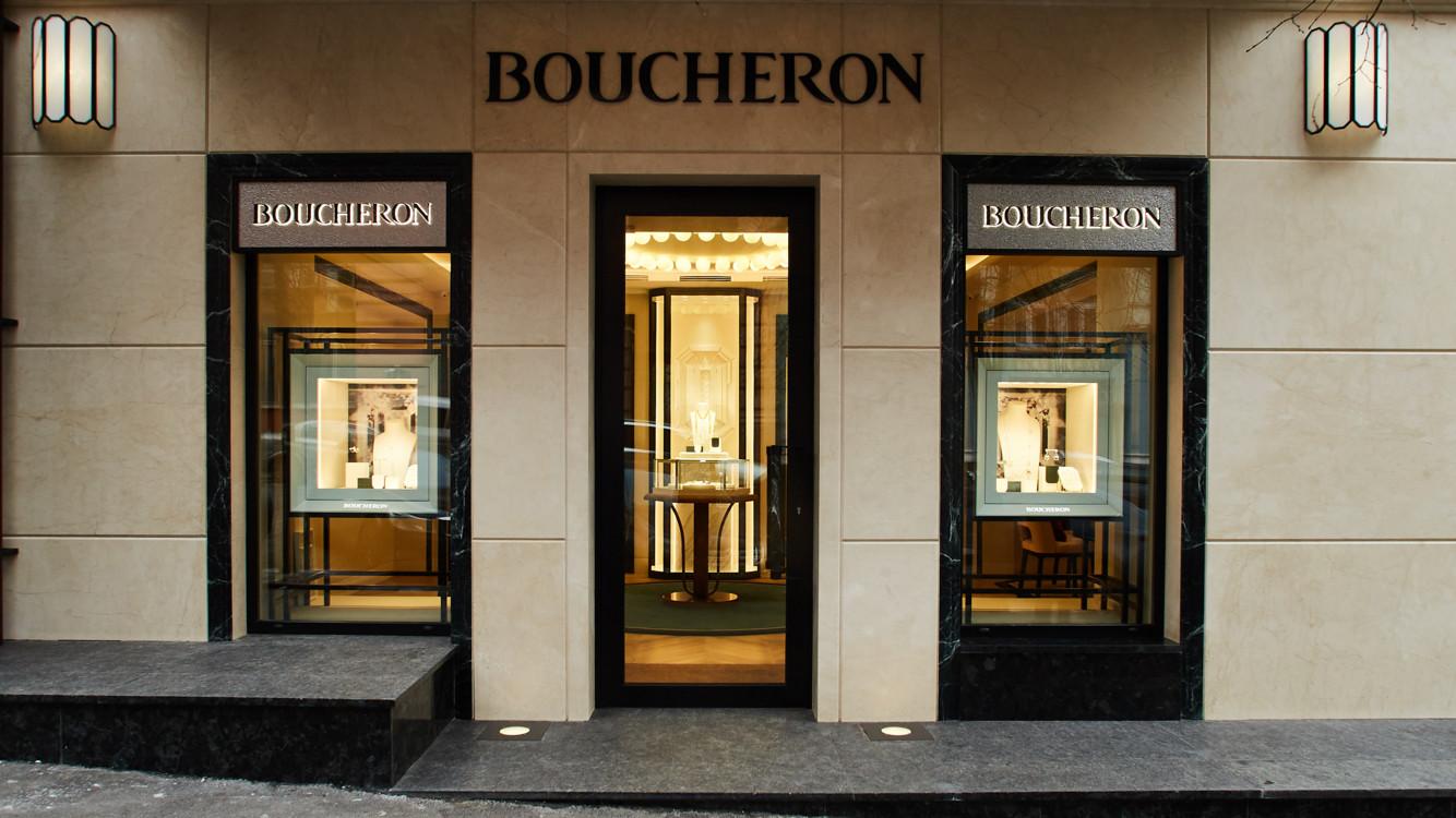 Вместе с руководством бренда в москву прилетела французская модель летиция каста — друг дома boucheron.