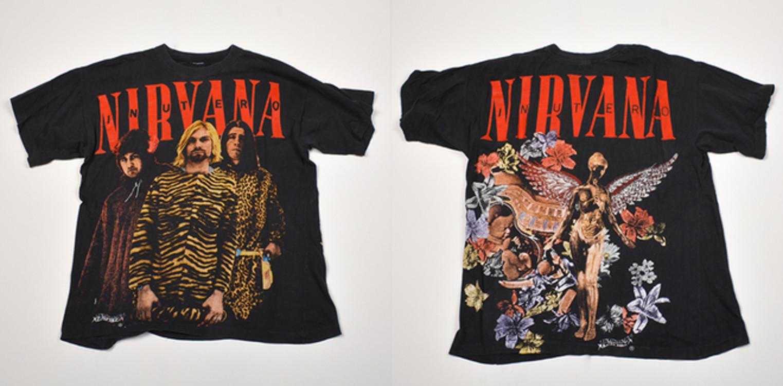 Футболка Nirvana з туру In Utero. Рідкісний принт і дизайн роблять цей топ must have річчю