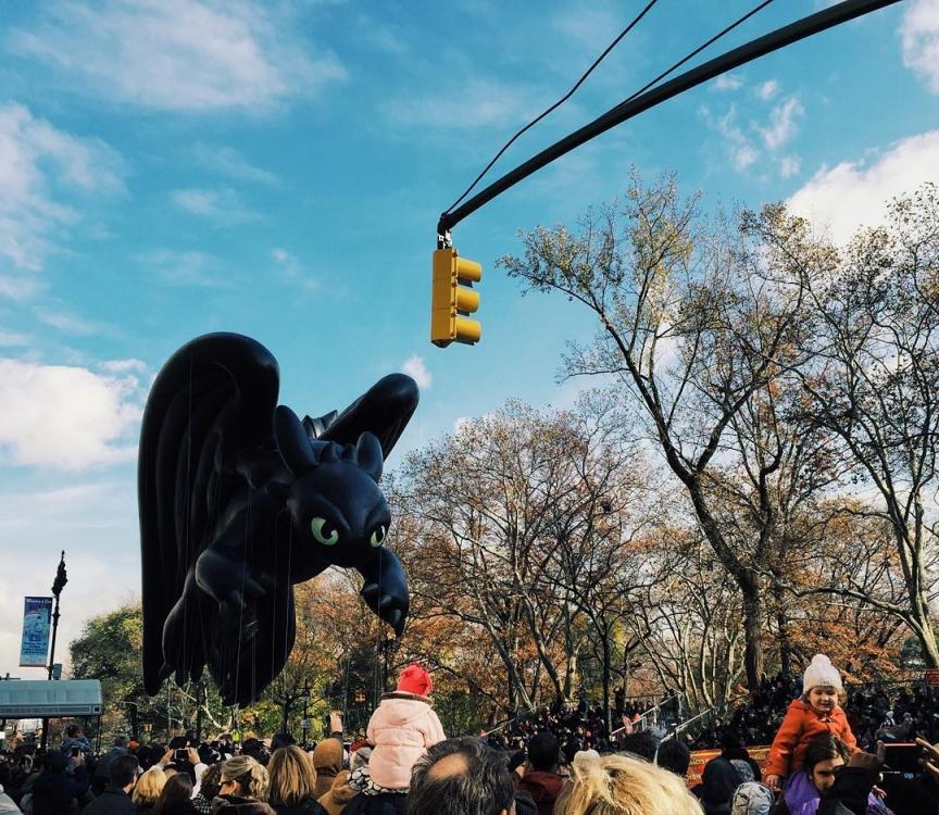 Парад в честь Дня благодарения глазами Ванессы Аксенте