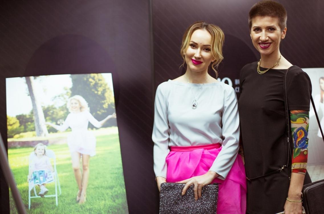 Ксения Бугримова и Анита Луценко