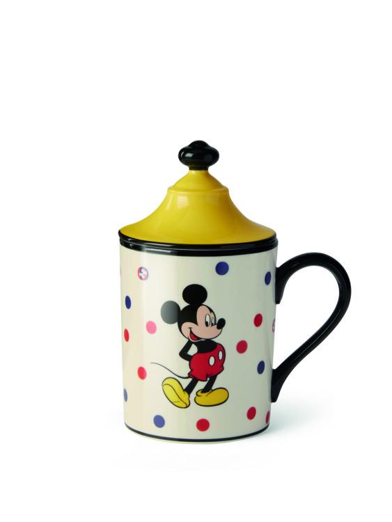 Чашка с крышкой с Микки Маусом из новой коллекции Gucci Décor