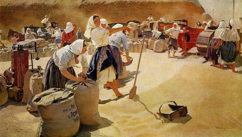"""""""Хлеб"""", 1949 (в коллекции Третьяковской галереи)"""