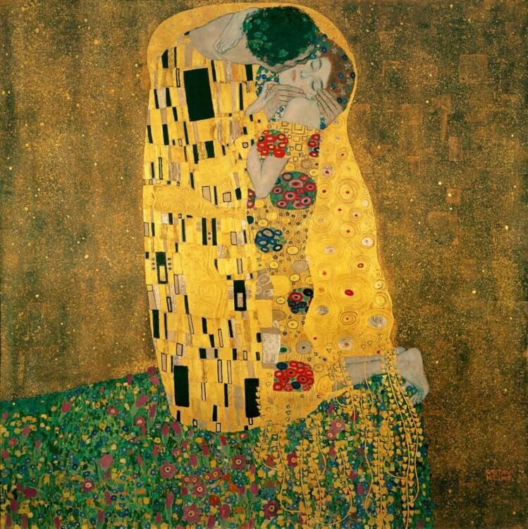 «Поцелуй», 1908