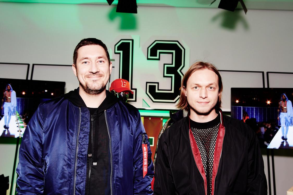Александр Онацкий и Евгений Примаченко