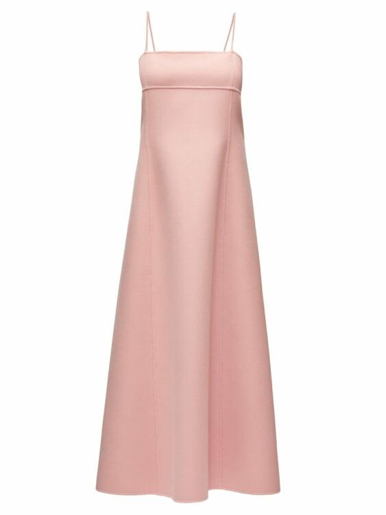 Модные платья оттенка пыльной розы весна-лето 2020 фото
