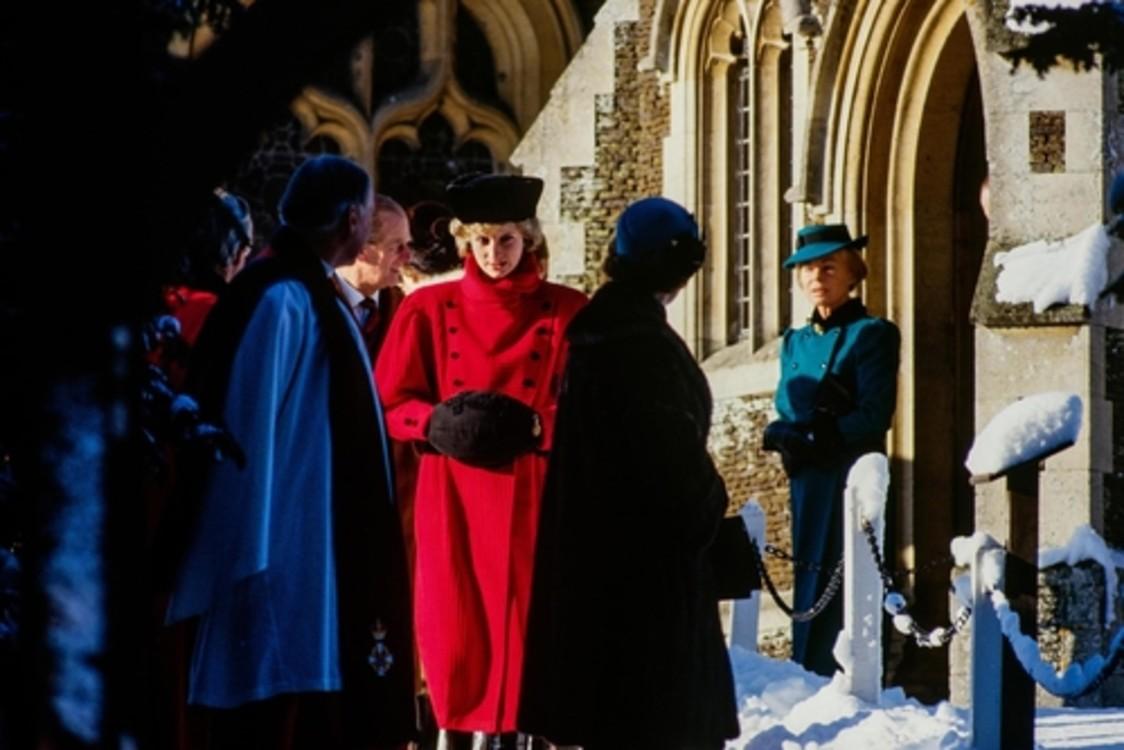 Принцеса Діана, 25 грудня 1985 р.