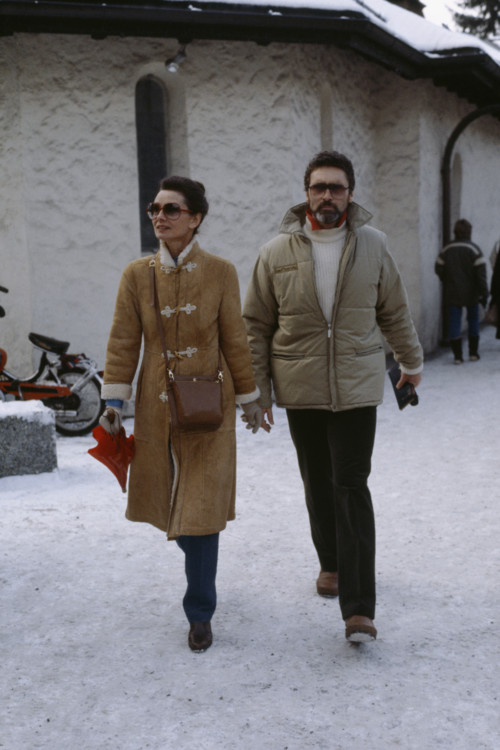 Одри Хепберн и Роберт Уолдерс, 1982 год