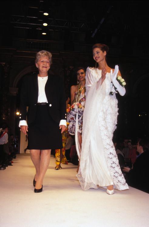 Mila Schön Haute Couture весна-лето 1992