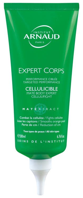 Антицеллюлитный гель для похудения с мате и кофеином Cellulicible Expert Corps, Institut Arnaud