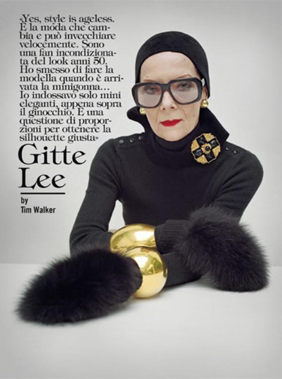Vogue Italia, жовтень 2010 рік, фото: Тім Вокер