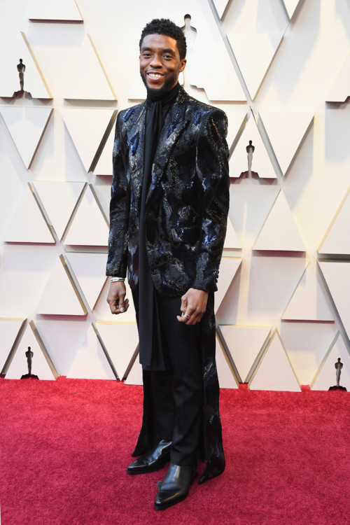 Чедвік Боузман у Givenchy