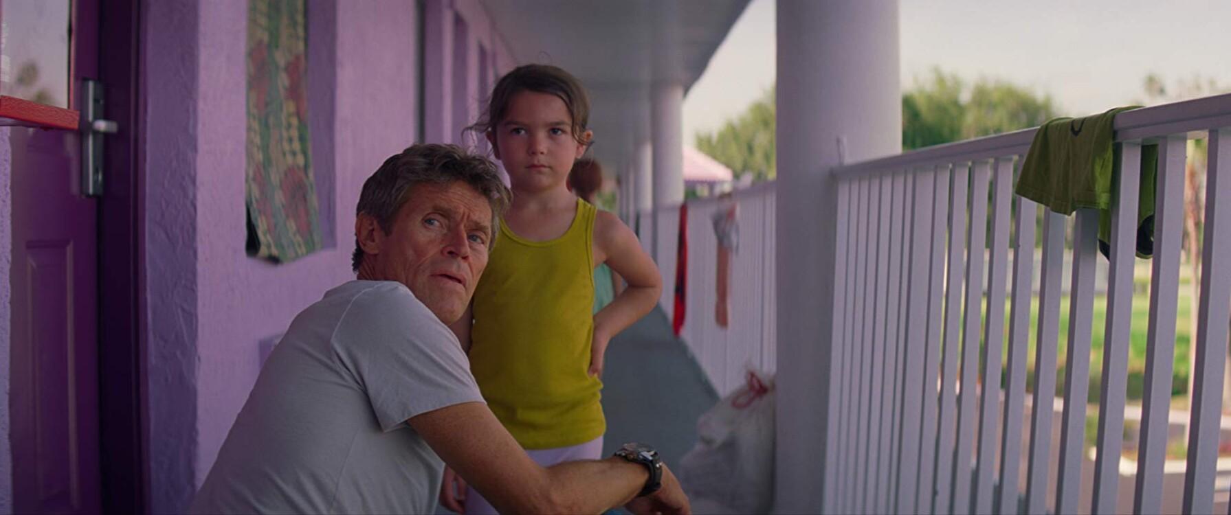 Віллем Дефо у фільмі «Проект «Флорида», 2017