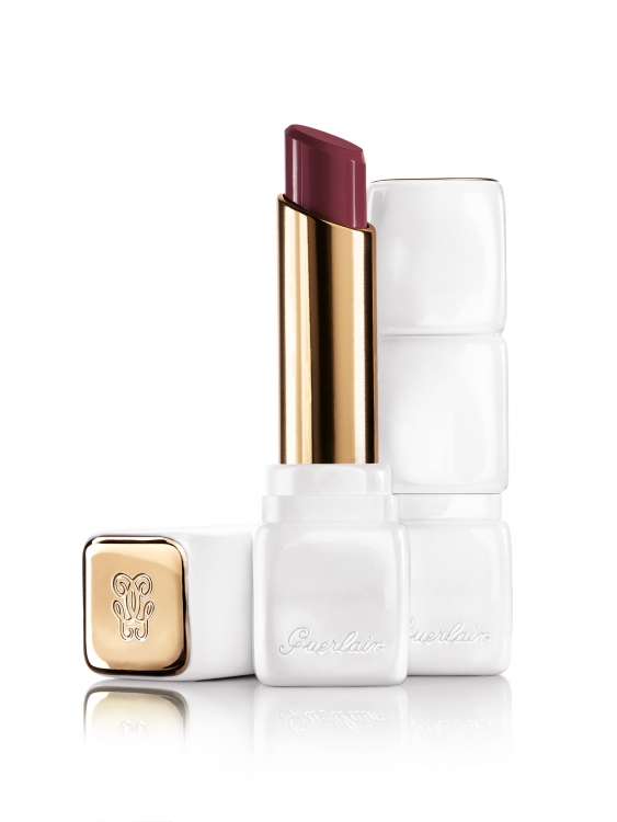 Помада-бальзам KissKiss Rose Lip №374 Wonder Violette, Guerlain
