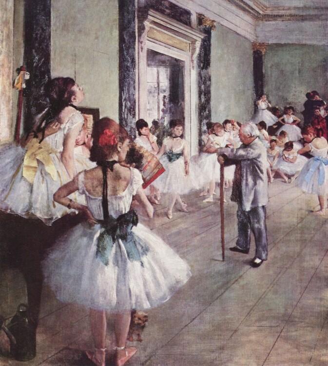 «Танцевальный класс (Балетный класс)», 1874