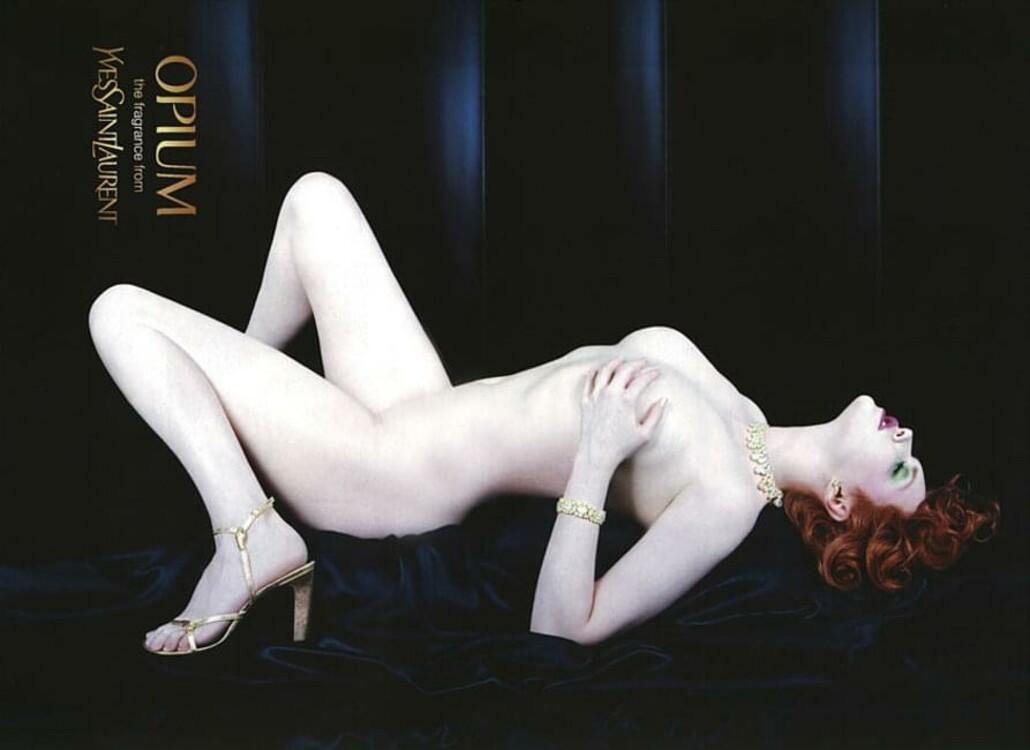 Софи Даль в об Стивеном Мейзелом в рекламной кампании Opium Yves Saint Laurent, 2000