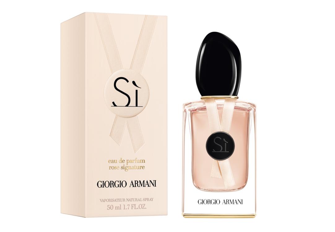 Si Rose Signature II Eau de Parfum, Giorgio Armani (лимитированный выпуск) с нотами роз, смородины, ванили и пачулей