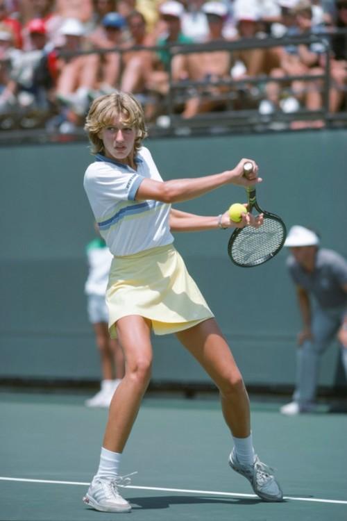 Штеффи Граф в Лос-Анджелесе в 1984 году