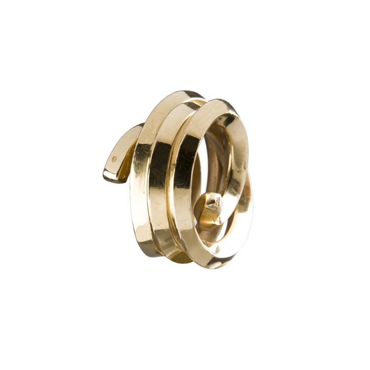 Кольцо Ligne indéterminée, золото, 1998, Бернар Вене, единичный экземпляр