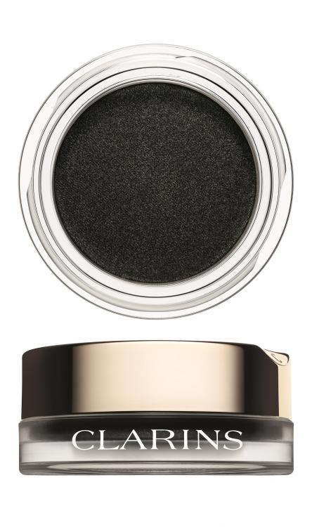 Кремовые тени с пудровым эффектом Ombre Matte, № 07 Carbon, Clarins
