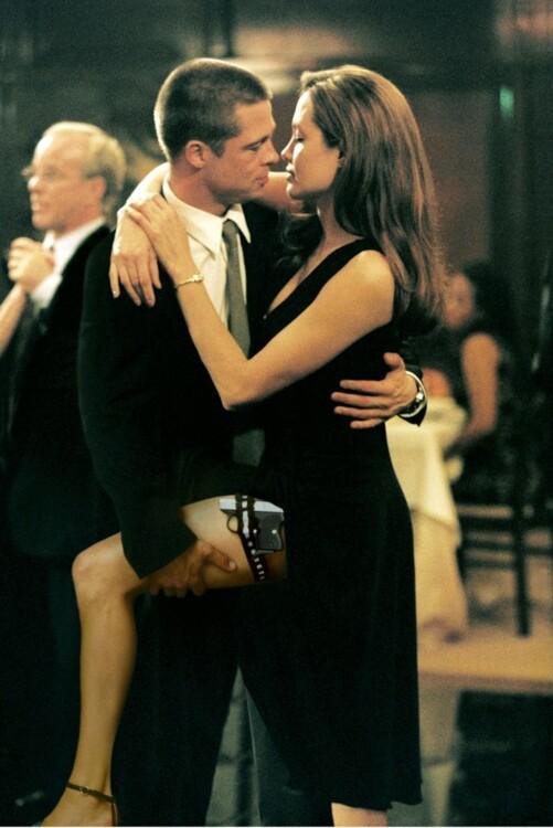 Анджелина Джоли в фильме «Мистер и миссис Смит», 2005