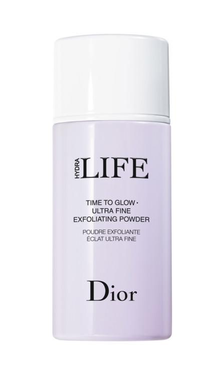 Пудра для эксфолиации и разглаживания с экстрактом сахара и семенами лотоса Poudre Exfoliante Éclat Ultra-Fine, Dior