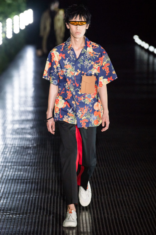 Мужские гавайские рубашки в коллекциях весна-лето 2020 фото