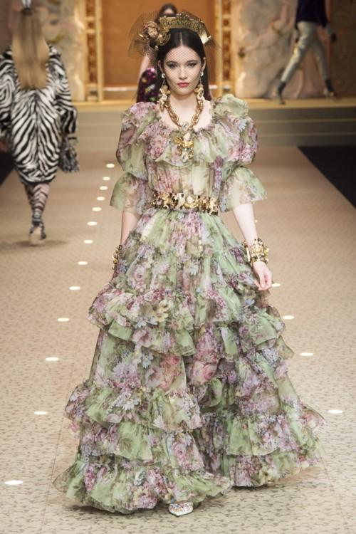 Вика Игнатенко, Dolce & Gabbana