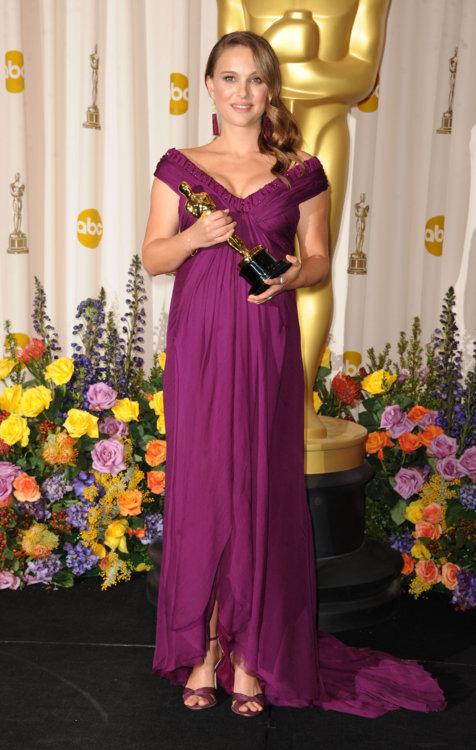 2011 год: Натали Портман в платье Rodarte