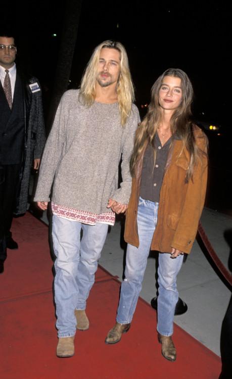 Брэд Питт и Джитка Похлодек, 1994