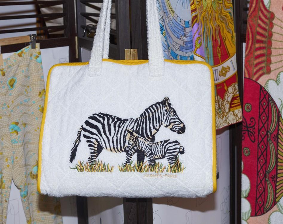 Текстильная сумка, Hermès