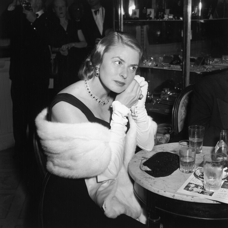 Ингрид Бергман, 1956