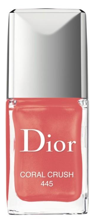 Лак для ногтей Le Vernis №445 Coral Crush, Dior