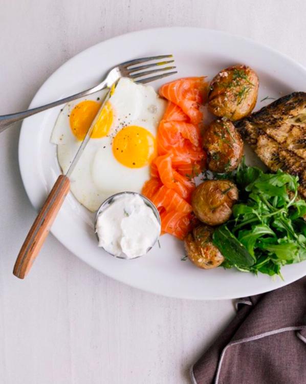Класичний сніданок в ресторані Gjusta @gjustabakery