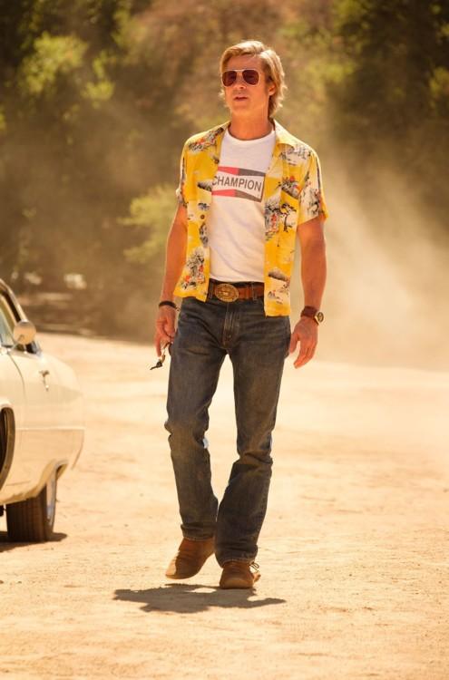 Брэд Питт в фильме «Однажды... в Голливуде»