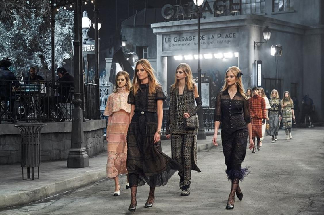 Показ Chanel Metiers d'Art в Риме