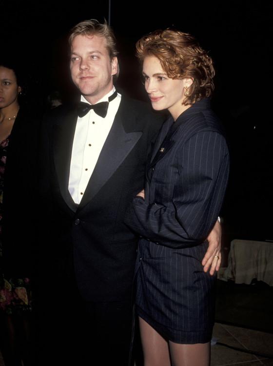 Кифер Сазерленд и Джулия Робертс, 1991