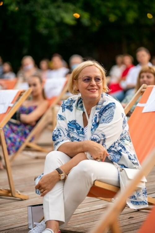 Лариса Мудрак на концерте в Зеленом Театре
