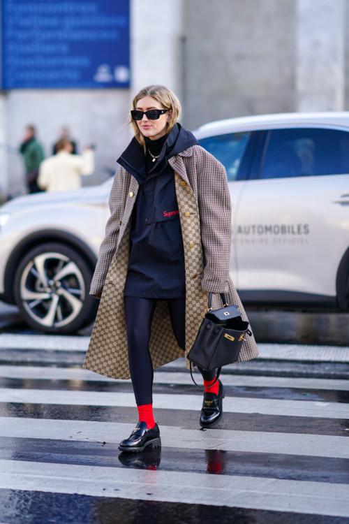 Как носить леггинсы стритстайл фото примеры осень 2020 фото
