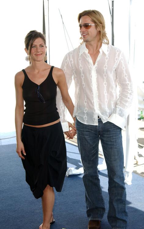 Совместные фотографии Дженнифер Энистон и Брэда Питта фото
