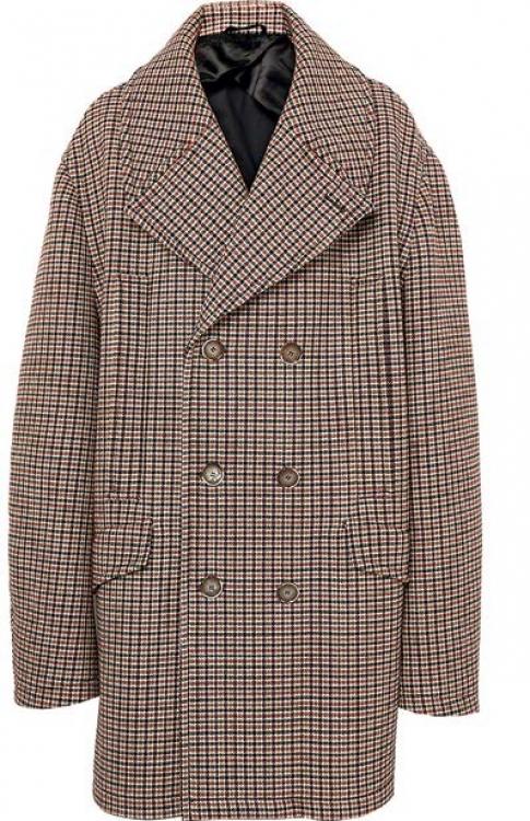 Шерстяное пальто, RAF SIMONS