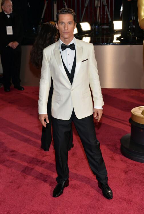 Мэттью Макконахи на церемонии вручения премии «Оскар», 2014