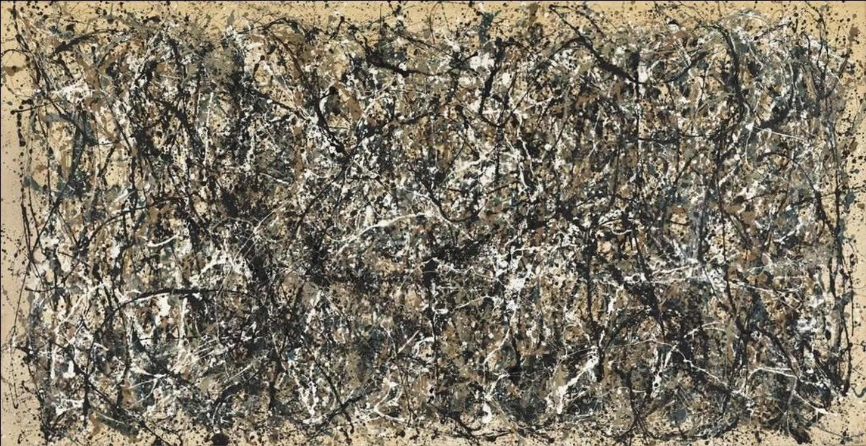 «Один: Номер 31, 1950», 1950 (Нью-йоркський музей сучасного мистецтва)