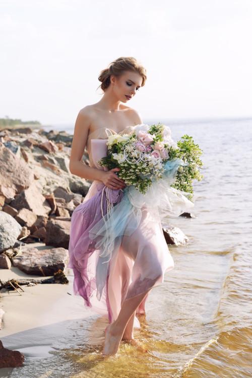 """Літня колекція букетів """"Афродіта"""", квіткова майстерня LoraShen"""