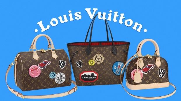 563fd99d29cf При создании новой коллекции креативный директор бренда Николя Жескьер  оглянулся в прошлое и создал коллекцию сумок и багажа, декорированную  яркими ...